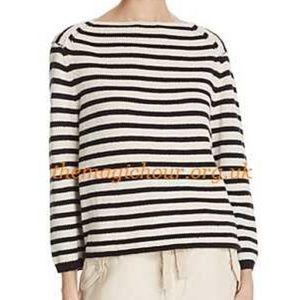 Vince striped sweater NWT